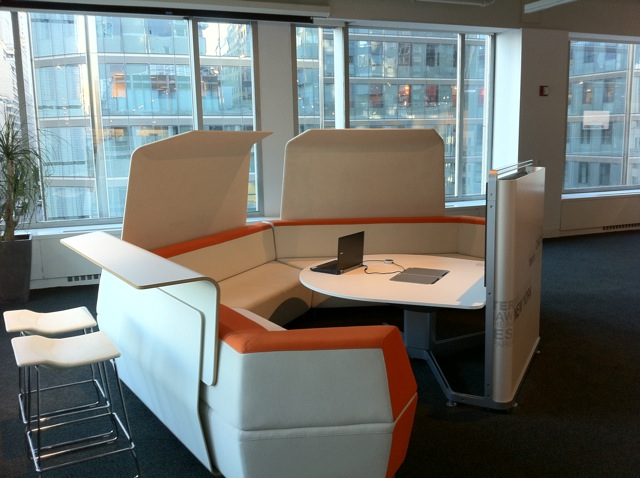 Steelcase Collaborative workarea