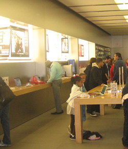 Apple Store - will the book store look more like this?